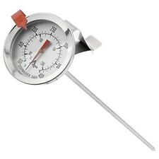 """Giudice Home Brew Termometro Profondo Fry ZUCCHERO MARMELLATA conservazione 12"""" Inossidabile Sonda."""