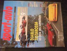 **f Sport Auto n°346 Bugatti 110 / Mazda 323 GTX 4x4 Turbo / Renault Clio 16 S