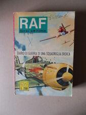 RAF Royal Air Force n°40 1976 fumetto Guerra ediz. Metro   [G760G]