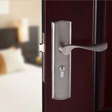Aluminum Door Handle Sets Lever LATCH LOCK BEDROOM BATHROOMPRIVACY PACKS #1