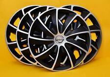 """4x15"""" Nissan Micra, Nota, Almera... COPRICERCHI, Coperture, Hub maiuscole, set di 4x15 pollici"""
