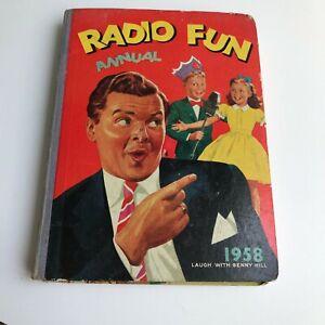Radio Fun Annual 1958 Benny Hill