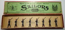 Britains Pre War Set #230 US Sailors in Blue w/ Box