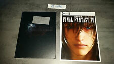 GUIDE FINAL FANTASY XV 15 COLLECTOR NEUF VF + ARTBOOK INSIDE EDITION NUMEROTE