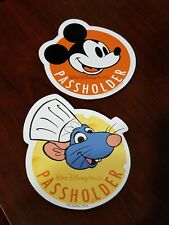 New ListingFood Wine Festival Chef Remy & Mickey Mouse Annual Automobile Passholder Magnets