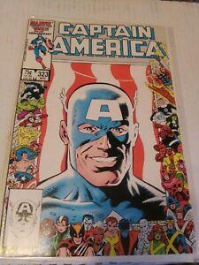 Captain America #323 NM/VF+1st App John Walker & Lemar Hoskins