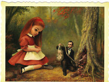 Mark Ryden Tree Show portfolio postcard print ray caesar snow yak lowbrow L@@K!