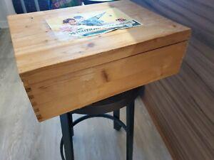Meccano Erector Set Wooden Box