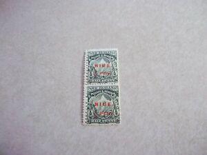 NIUE Cook Islands Stamps SG 11 MIXED PERFS  PAIR