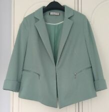 Immaculate Condition! Worn Twice! Ladies Green Jacket by Principles - 14 Petite