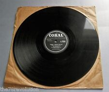 Al Alberts - Taking A Chance On Love UK 1958 Coral 78rpm Single