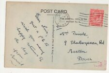 Miss Nina Private Shakespeare Road Maxton Dover 1930 688b