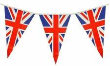 British Union Jack Flag Pvc Bunting Banner Royal Party 25 Flag 7 Metres 23Ft