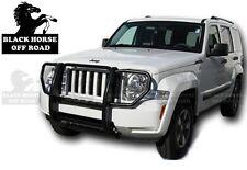 Black Horse 2008-2013 Jeep Liberty Black Grille Brush Guard 17A086400A