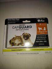 Sentry Capguard 6 tablets dogs & cats 2-25 lbs ex 2/20