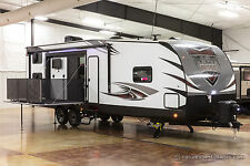 New 2018 Nitro 29KW Extended Season Toy Hauler Travel Trailer 14' Garage for UTV