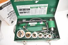 Greenlee 7506 Slug Splitter Hydraulic Knockout Set With 767 Hand Pump 12 2 Cond