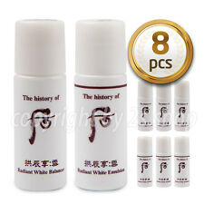 [The History Of Whoo] Seol Radiant White Balancer Emulsion Set 8pcs