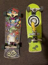 Santa Cruz x Simpsons Bart Skateboards