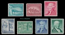Liberty Issue Supplement 1031A 1032 1033 1034 1037 1038 1048 Set 7 MNH - Buy Now