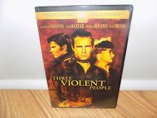 Three Violent People (DVD, 2005) Widescreen - BRAND NEW, SEALED