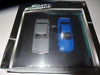 GREENLIGHT 2 CAR SET CHEVELLE SS & SKYLINE GT-R FAST & FURIOUS 1:43 DIECAST