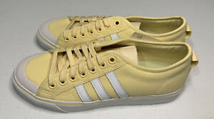 Adidas Originals Yellow Nizza Lace Up Sneakers Shoes Mens Size 9 NWT