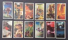 Raro E.T. Extra Terrestrial Reino Unido Nabisco Biscuit The Tarjetas Set Completo Raro 1982