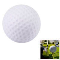 10 Pack White PU Foam Elastic Golf Sponge Balls Indoor Outdoor Practice Training