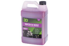 3D Wash N Wax Cleans and Protects Car Shampoo - 128oz