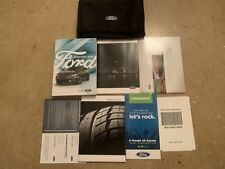 2018 Ford Fusion Energi Hybrid Owners Manual Set W/ Case and Supplements