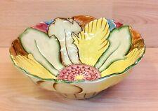 """Vintage Wood & Sons Burslem """"Floral"""" Pattern 1750 Serving Bowl."""