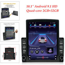 "1DIN Universal 10.1"" Android 9.1 GPS WIFI Quad-core 2GB+32GB Car Stereo Radio"