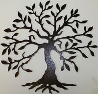 Tree of Life 2 Metal Wall Art Home Decor - Copper Vein