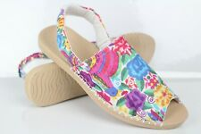 Reef Women's Escape Sling Prints Sandals Size 9 Multi Floral RF0A3YKO