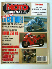 N°1005 MOTO JOURNAL; La Centaure/ Honda 750 NR/ Honda 1500 Gold Wing/ 750 Zephyr