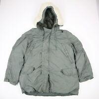 Vtg Extreme Cold Weather Parka Type N3-B Jacket Military USAF Military LARGE