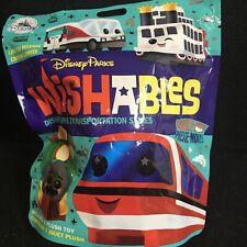 Disney Wishables Disney Parks Transportation Series One UNOPENED PACK one Plush
