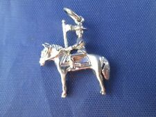 VINTAGE STERLING SILVER ROYAL CANADIAN MOUNTED POLICE OFFICER CHARM