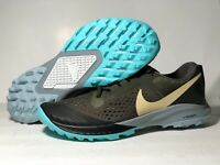 Nike Zoom Terra Kiger 5 Trail Running Shoes AQ2219-301 Olive Men's Size 9 US
