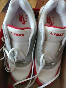 1999 Nike Air Max Burst 94 Grey/Red-White 604041-162, Size 13