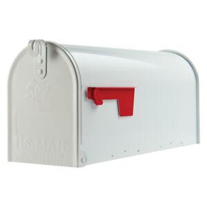 """Original US-Mailbox, Stahl, weiß - """"Made in USA"""" - US Mailbox - Briefkasten"""