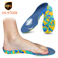 Kids Children's Insoles EVA Orthotic Arch Support Flat Foot Shoe Inserts Cushion
