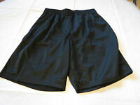 Alleson Athletic Adult XL Baseball Softball basketball Shorts mesh black NOS