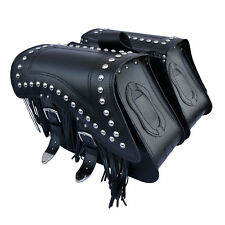 MOTORCYCLE LEATHER SADDLEBAGS PANNIERS TRIUMPH THUNDERBIRD AMERICA BONNEVILLE