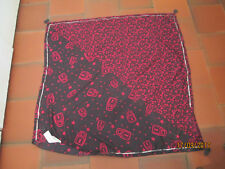 FOULARD GRIS MOTIFS CADENAS ROSE FUSCHIA WE ARE YOUNG IKKS