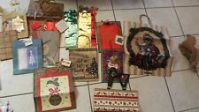 Big lot or red green gold Christmas holidays xmas gift bags & boxes gift wrap
