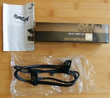 BOXED OLYMPUS RELAY CORD 1.2M WITH INSTRUCTIONS