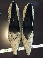 MARIO PROLOGUE WOMAN HIGH HEELS FORMAL MADE IN ITALY US SIZE 8 EU 38