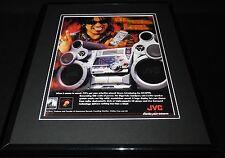 2001 Tommy Lee JVC Subwoofers Framed 11x14 ORIGINAL Vintage Advertisement